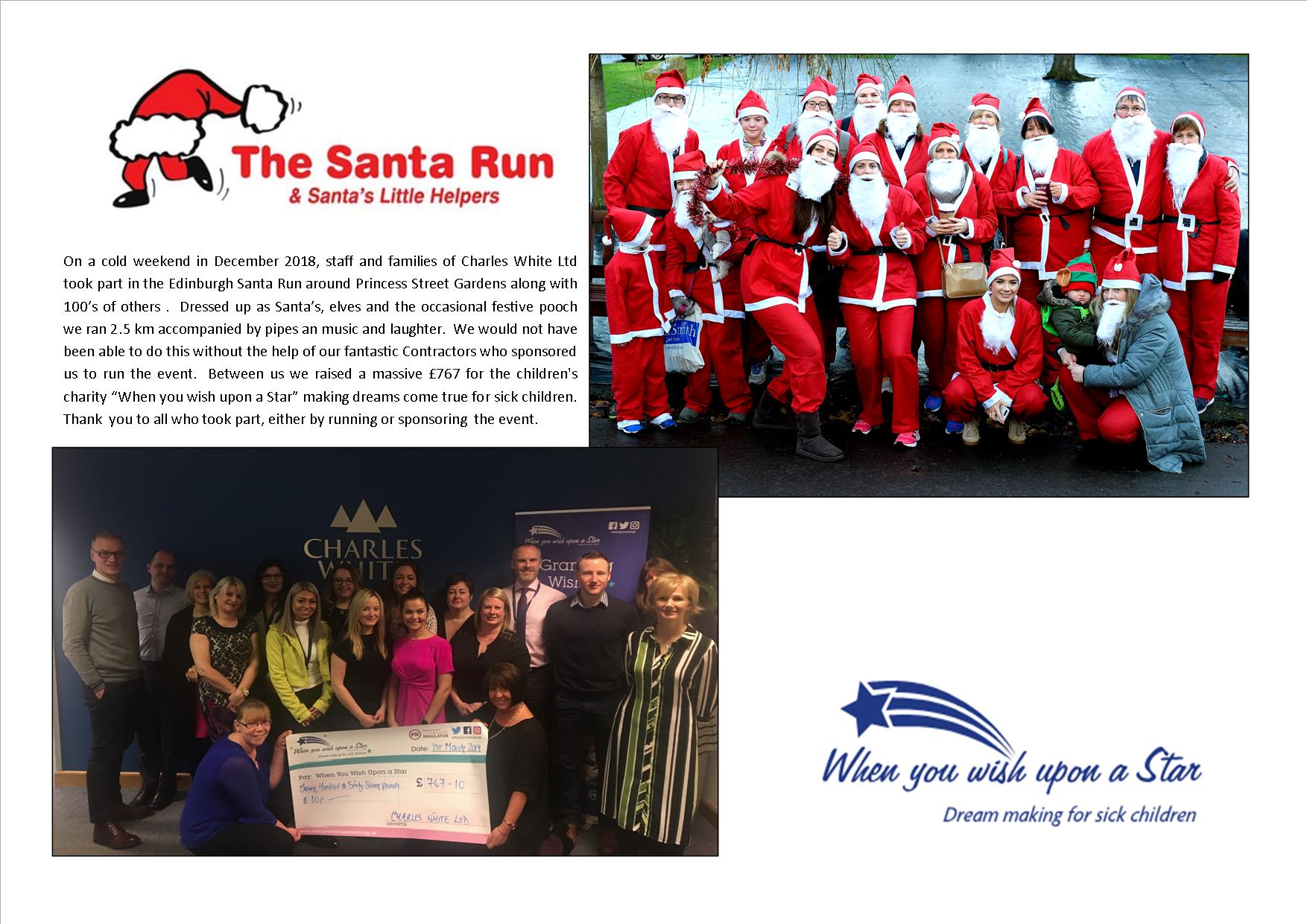 Santa Run Fundraiser